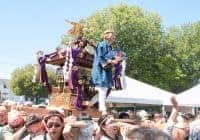 Photo of Omikoshi at 2016 Festival by Lucas Lau